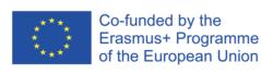 Erasmus and programme of the European Union logo