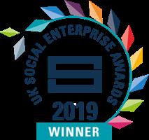 UK Social Enterprise Awards 2019 logo