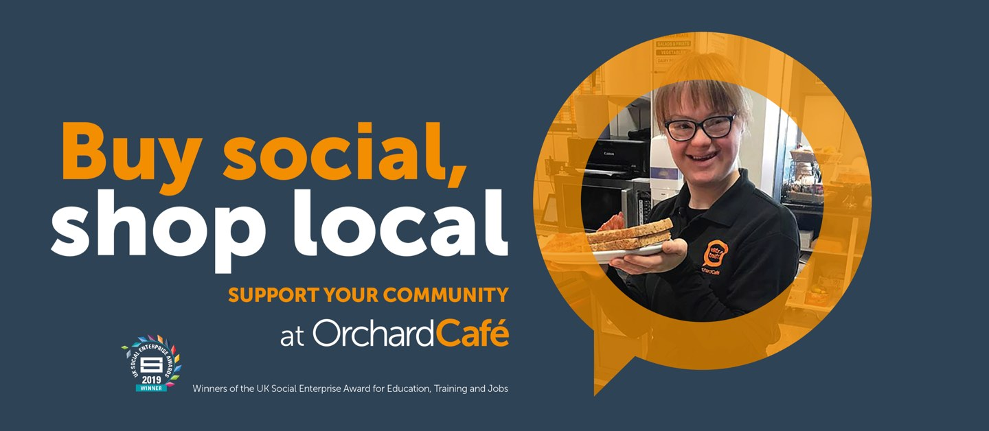 Buy Social, SHop Local with Orchardville