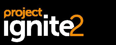 Orchardville Ignite2 programme logo, light