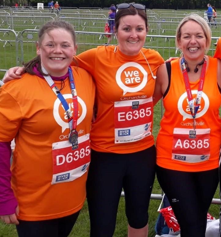 Orchardville Staff take on Belfast Marathon